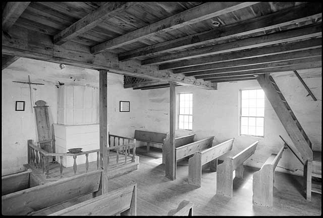 Hauge Church Interior